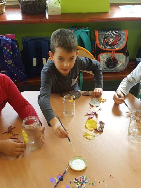 Dzieci w świetlicy szkolnej
