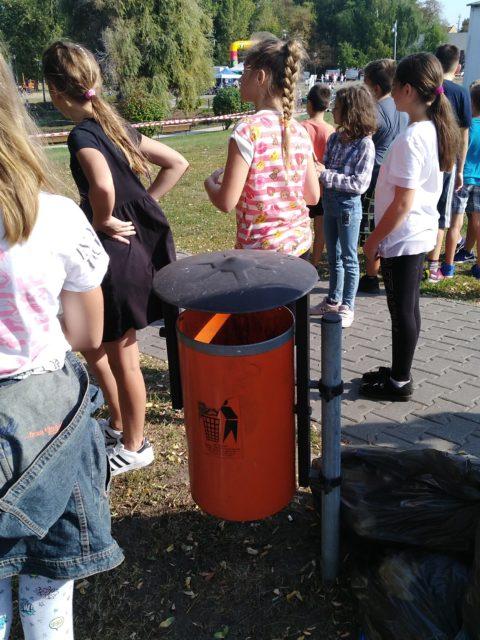 Fotorelacja z akcji Sprzątania Świata