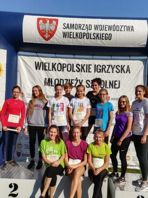Fotorelacja z wojewódzkiego finału sztafetowych biegów przełajowych