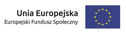 logo Europejski Fundusz Społeczny