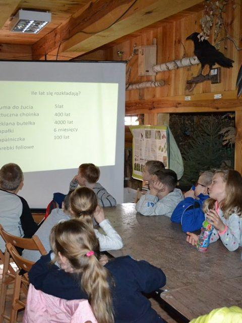 Fotorelacja z terenowej lekcji ekologicznej