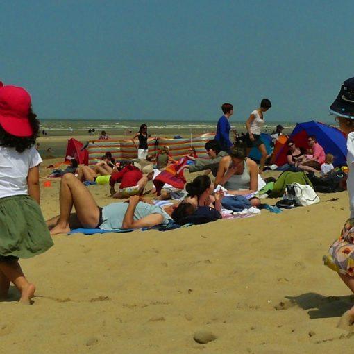 Zdjęcie dzieci na plaży