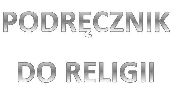 Napis: podręcznik do religii